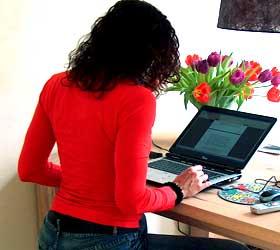 נשים בעסקים- עבודה מהבית