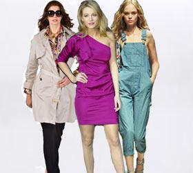 אופנה: הטרנדים האופנתיים של אביב קיץ 2009