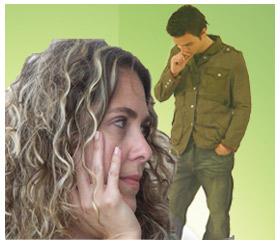 יחסים עם גבר גרוש