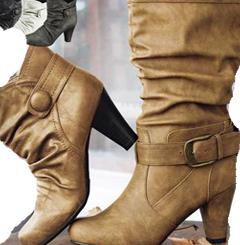 מצעד נעלי הנשים, מגפונים, ומגפיים לחורף 2012