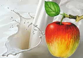 דיאטת חלב ותפוחים